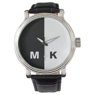 Men's Modern Monogram Watch
