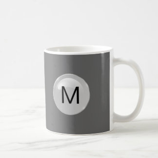 Mens Monogram Coffee Mugs