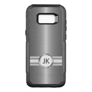 Mens Monogram Style OtterBox Commuter Samsung Galaxy S8+ Case