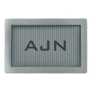 Men's Monogrammed Monogram Belt Buckle Gift