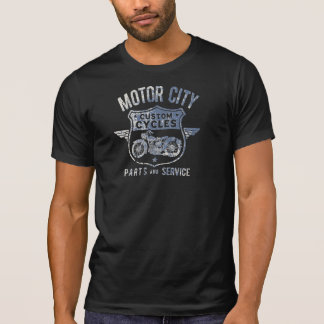 Men's MOTOR CITY CUSTOM CYCLES T-SHIRT
