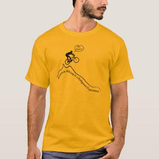 "Men's ""Mountain biking is a religious experience"" T-Shirt"