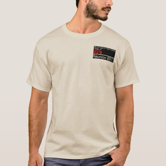 Men's natural Class of 1971 long-sleeved shirt