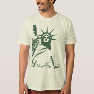 Men's New York Shirt Statue of Liberty T-shirt