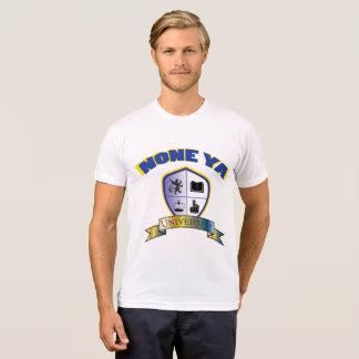 Men's None Ya University Crest Shirt