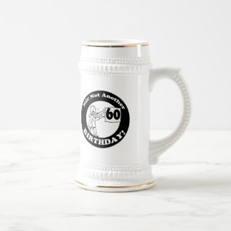 Mens Not My 60th Birthday Gifts Beer Steins
