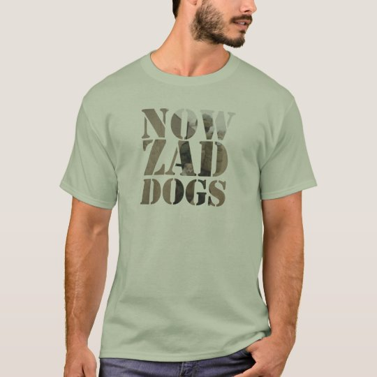 Mens Nowzad Soldier and Puppy T Shirt