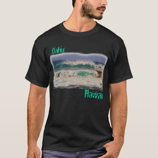 Mens Oahu Hawaii shirt