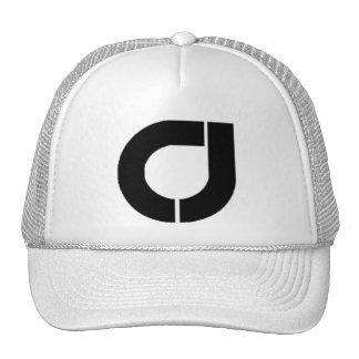 Men's Official C&J Trucker Hat, White Cap