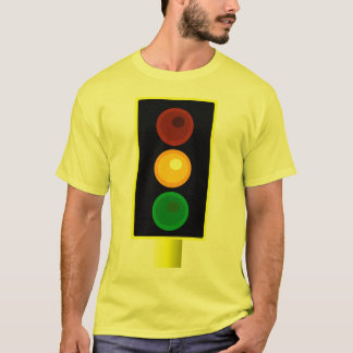 Mens Orange Traffic Light Shirt