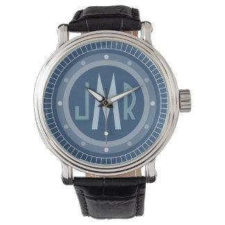 Mens Personalized Monogram Watch
