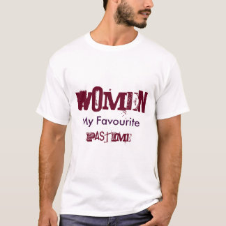 Mens Plain White Tshirt With Fun Slogan