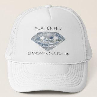 Mens Platenhim Diamond Collection Trucker Hat