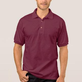 Mens Polo Shirt Maroon