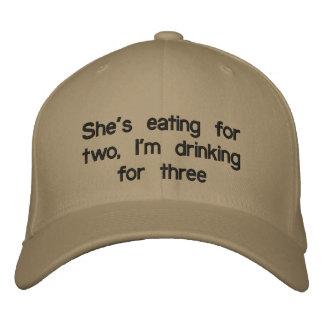 Men's pregnancy hat embroidered hat