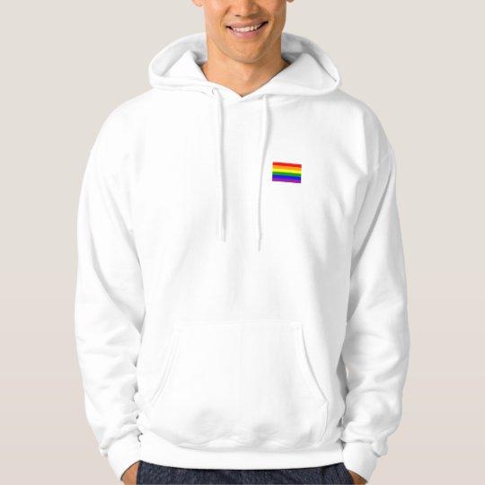 Mens pride hoodie. hoodie
