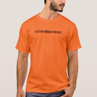 Mens Psycho Woman Magnet T-Shirt