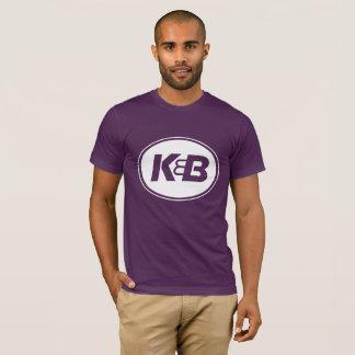 Men's Purple K&B Tee