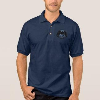 Men's Raven Polo Shirt Raven Cool Crow Art Shirt