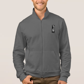 mens red Jwear design sweat jacket