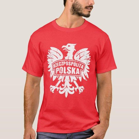 Mens Rzeczpospolita Polska Polish Eagle T-Shirt