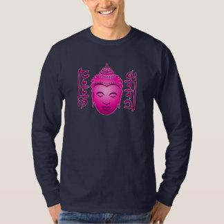 Men's Sanskrit Buddha Long Sleeved T-Shirt