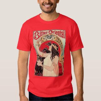 Men's Shirt: Art Nouveau - Bitter Oriental Tshirt