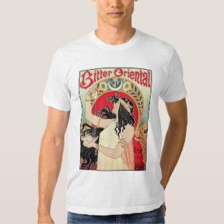 Men's Shirt: Art Nouveau - Bitter Oriental Tshirts