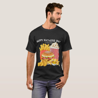 Mens Shirt Fast Foodie Happy Father's Day