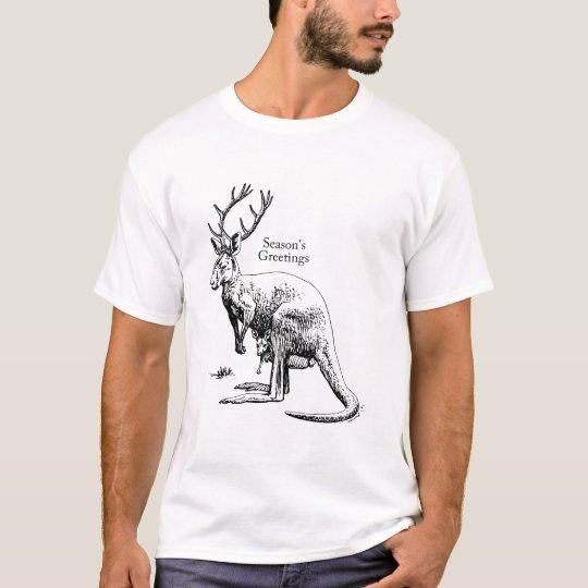 Men's Shirt - RooDeer/Season's Greetings