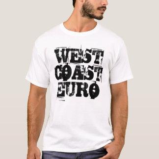 Mens Shirt - West Coast Euro (trashed font)