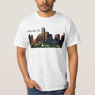 Men's Shirt with Dallas Skyline