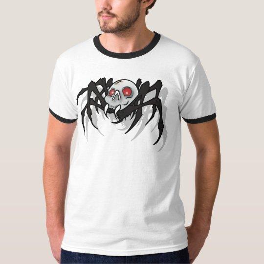 Mens Skull Spider T-Shirt