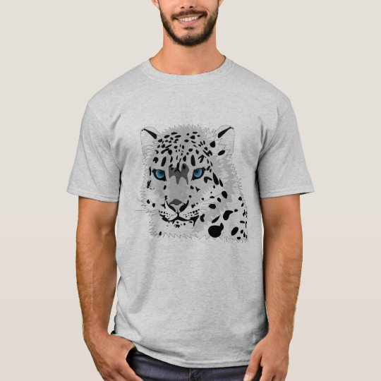 Men's Snow Leopard T-Shirt