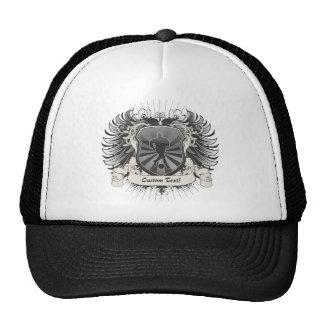 Mens Soccer Crest Trucker Hat