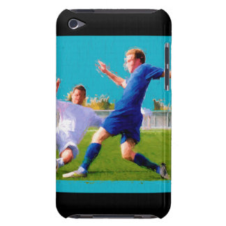 Men's Soccer Game Barely There iPod Case