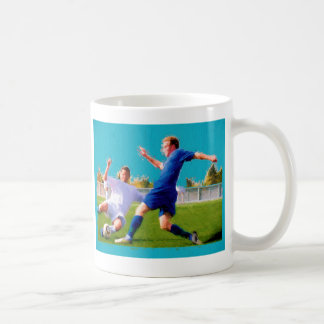 Men's Soccer Game Coffee Mug