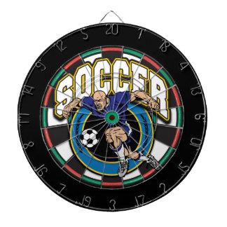 Men's Soccer Logo Dartboard