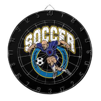 Men's Soccer Logo Dartboards