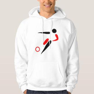 Mens Soccer Sweater Hooded Sweatshirts