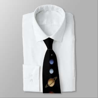 Men's Solar System Tie