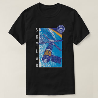 Men's Space Hipsters Skylab T-shirt (black)