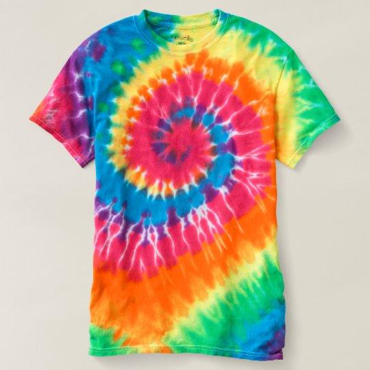 Spiral Tie-Dye T-Shirt, Rainbow Swirl