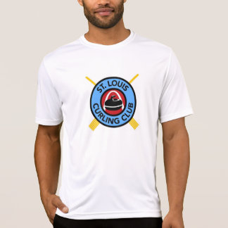 Men's St Louis Curling Club - Micro fiber T-Shirt