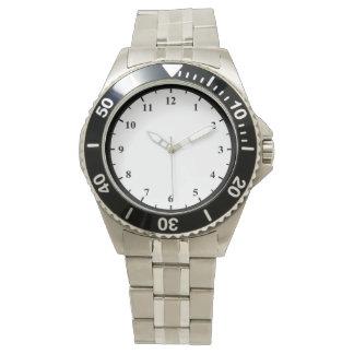Men's Stainless Steel Bracelet Watch