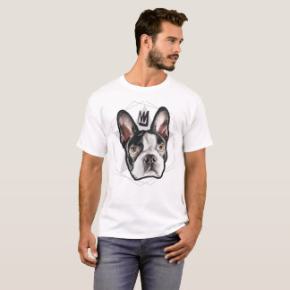 Mens Streetwear: King Boston Terrier T-Shirt