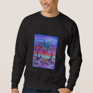 Men's Sweatshirt - Buff on the Beach