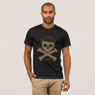 Men's T- black with gold logo T-Shirt