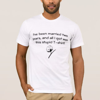 Men's t-shirt for 2nd wedding anniversary