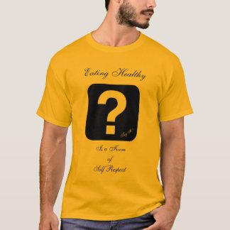 Mens T-Shirt, Healthy Eating T-Shirt